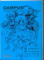 higurashi notebook set 4 by kyo31