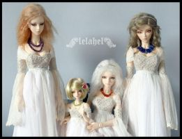 my girls with necklaces by Lelahel-Clothes