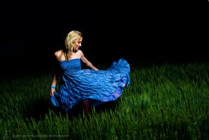 Christalle Dancing in a Field by inessentialstuff