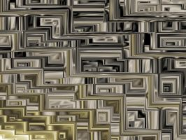 PLAIN GEOMETRY FRACTAL by Voyager-I