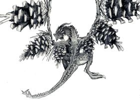 Piney Dragon by notAlex