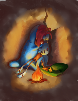 Nightmare lullaby by ChimeraTheEchidna