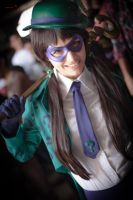 Lady Riddler - Angela Bermudez by DraconPhotography