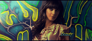 Zooey Deschanel Smudge Signature by oJonn