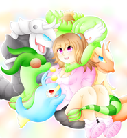 My Emerald Team by lavaquil