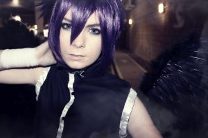 Dark Mousy -D.N.Angel Cosplay- by LeatherAnd-Chocolate