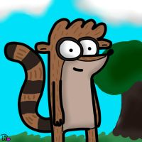RIGBY :D by sclirada
