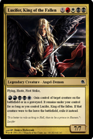 MTG: Lucifer, King of the Fallen by SilverRaven13