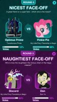 MAKE PINKIE AND DISCORD WIN by RemixPop122