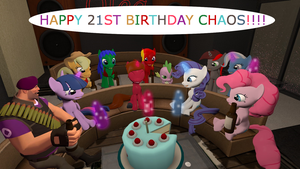 Happy 21st Chaos by mRcracer