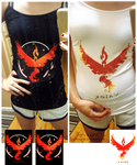 . Team Valor Shirts . by KuchikixRukia