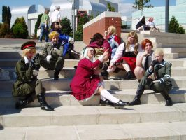 Hetalia Axis Powers Group by Dragon-of-Heaven
