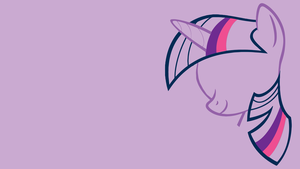 Minimalistic Twilight Sparkles Wallpaper by MrFugums