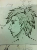 DS August 17 - Mohawk by modestmonster