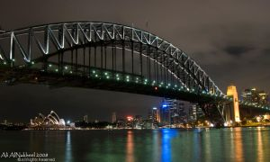 Harbor Bridge And Opera House by IAMSORRY87