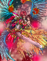 An Angels Love colored by kanogt