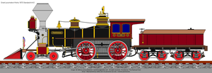 Frontiersman 4-4-0 by RailroadNutjob