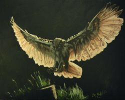 the landing my painting by cliford417
