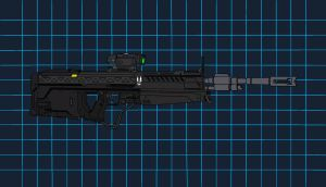 M395 Designated Marksman Rifle by Haloidfan