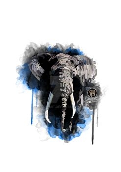 Elephant1 by clapart