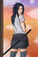 Sasuke - Gender Bender by Helonzyz