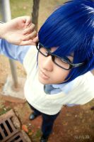 Project Diva 2: KAITO. by solatomato