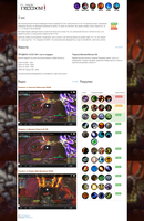 World of Warcraft guild site by CthulhuInside