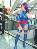 Psylocke of X-Men at Anime Expo (AX) 2011 by trivto