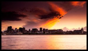 Montreal Sunset 2012 by biroo87