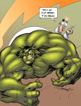 Proctology Hulk Color by logicfun