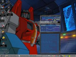 Starscream's WIP Winamp by Sunstars
