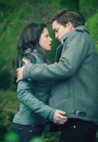 Edward and Bella by river-flows-in-you