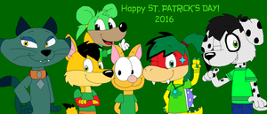 Happy St. Patricks Day 2016 by JustinandDennnis