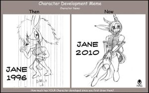 Character Development Meme by avencri