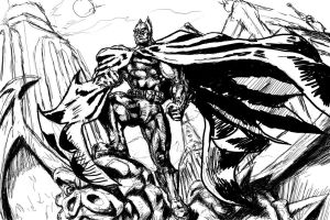 Batman Inked by TheHylden