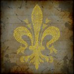 Fleur de Lis Typography - The Musketeers by LPSoulX