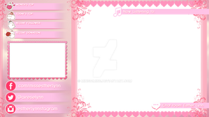 LOL Overlay - White Text with Pink Shadows SAMPLE by mine22mine