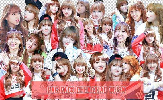 [PNG PACK] WJSN - CHENGXIAO by cindytadev