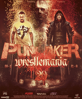 WrestleMania 29 Poster by MhMd-Batista
