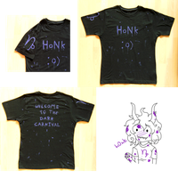 Gamzee inspired shirt by Hebidoku