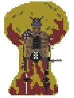 pixel-wasters-Raider-Painspike by Polygon-Eyes