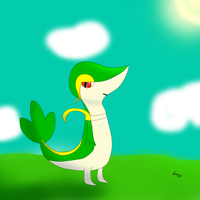 Just Another Snivy by SnivyIzTehBomb