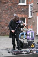 Urban violinist 2 by Random-Acts-Stock