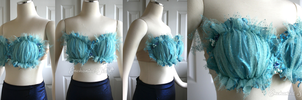 Blue Faerie/Mermaid Fantasy Top by enchantedsea