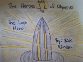 HoO New Cover 1/5 - The Lost Hero by MissMartian4ever