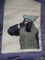 Cross Stitch Kakashi Hatake by Danieltgk