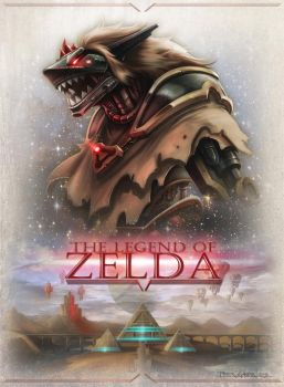 The Legend of Zelda - redesign in Sci-Fi by madmagnus