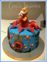 Thundercats Cake! by gertygetsgangster