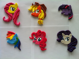 MLP: FiM Ornaments FOR SALE by Torgetsu-Kon