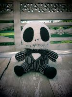 Crocheted Baby Jack Skellington by aphid777